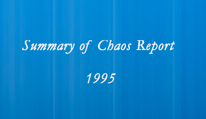 Summary of Chaos Report 1995