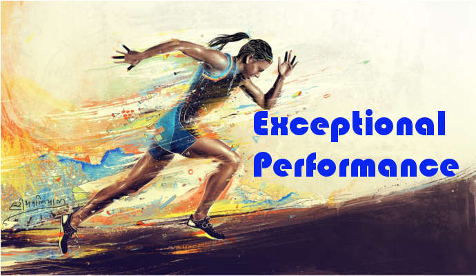 Behaviors that lead to Exceptional performance